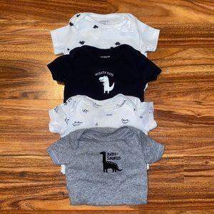 💙 5 for $25 | Carter's | Onesie Bundle | Baby